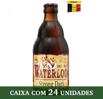 Cerveja Waterloo Strong Dark 330 ml - Caixa com 24