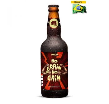 Cerveja Invicta No Grain no Gain 500 ml