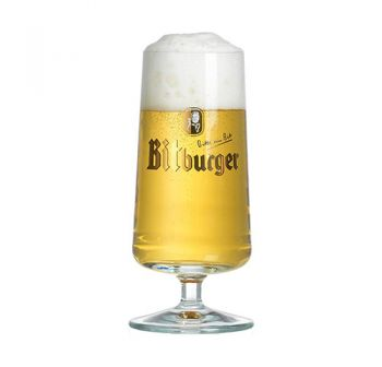 Taça Bitburger 300 ml