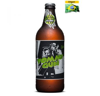 Cerveja Backer Tommy Gun Double IPA 600 ml