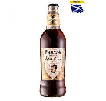 Cerveja Belhaven Robert Burns Brown Ale 500 ml