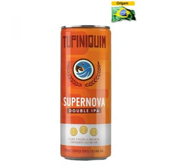 Cerveja Tupiniquim Supernova Double IPA 350 ml