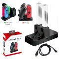 Carregador e Base Para Controles Nintendo Switch e Joy Con