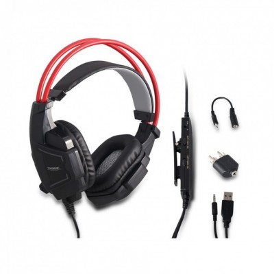 Headset Gamer Fone De Ouvido Microfone Xbox One Ps3 Ps4 Pc  - foto principal 6