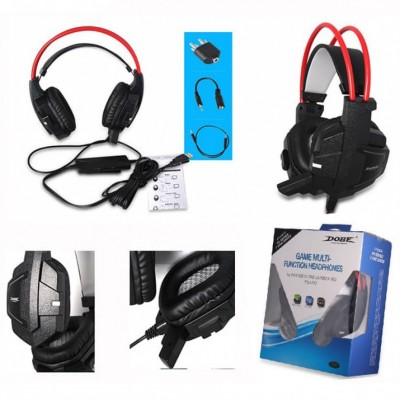 Headset Gamer Fone De Ouvido Microfone Xbox One Ps3 Ps4 Pc  - foto principal 5