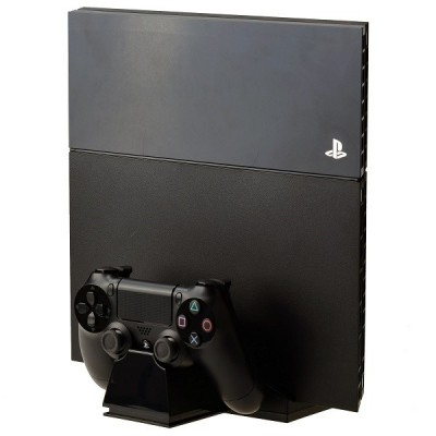 Base Suporte Playstation 4 E Carregador 2 Controles Ps4 Fat  - foto principal 3