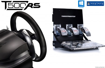 VOLANTE T500RS Thrustmaster, PS3, PS4 e PC.  - foto principal 1