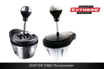 SHIFTER TH8A Thrustmaster- PS3, PS4, XBOX ONE, PC - Câmbio H ou Sequencial.