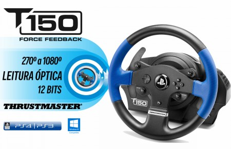 Volante Thrustmaster T150 Force Feedback PS4/PS3/PC  - foto principal 1