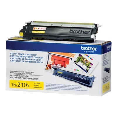 TN210Y Toner Brother Amarelo / yellow - Original