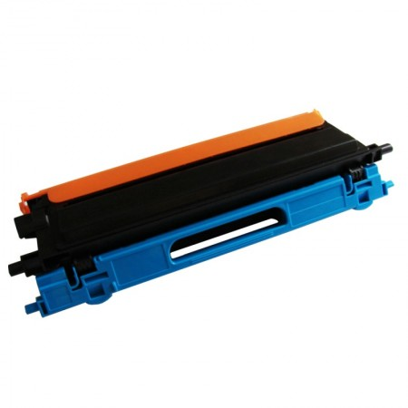 TN110 / TN115 Toner Brother Ciano / Cyan - Compatível 100% Novo