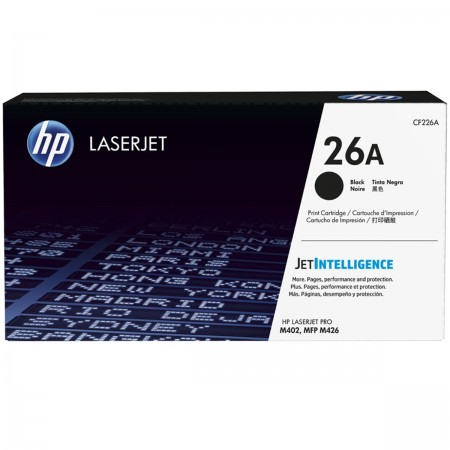 CF226A Toner HP Preto/Black - Original