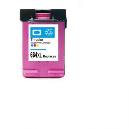 Cartucho 664XL HP color (F6V30AB) - Renew