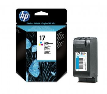 HP 17 Cartucho Color (C6625A)  - Original