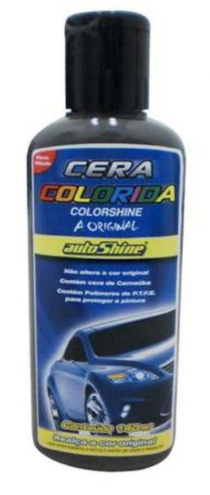 Cera Colorida Colorshine Prata Autoshine (140 ml)