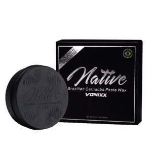 Native Brazilian Carnaúba Paste Wax - Black Edition Vonixx (100g)