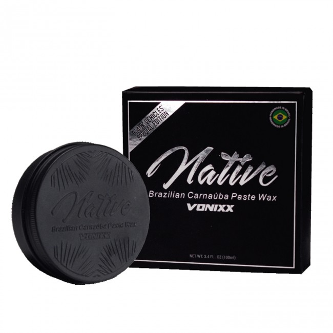 Native Brazilian Carnaúba Paste Wax - Black Edition Vonixx (100g)  - foto principal 1