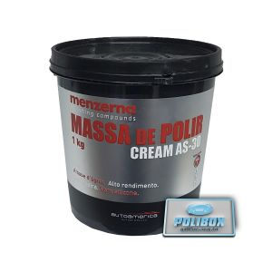 Massa de Polir Cream AS-30 Menzerna (1kg)