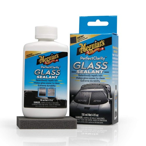 Cristalizador de Vidros Perfect Clarity Glass Sealant Meguiar's G8504 (118ml)  - foto principal 1