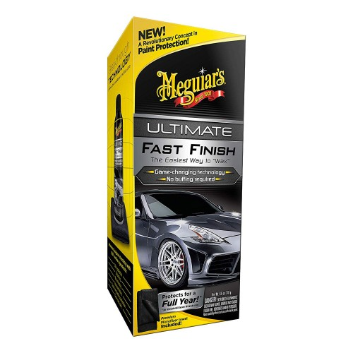 Cera Protetora Rápida Spray Ultimate Fast Finish Meguiars G18309 (251,4ml)  - foto principal 2