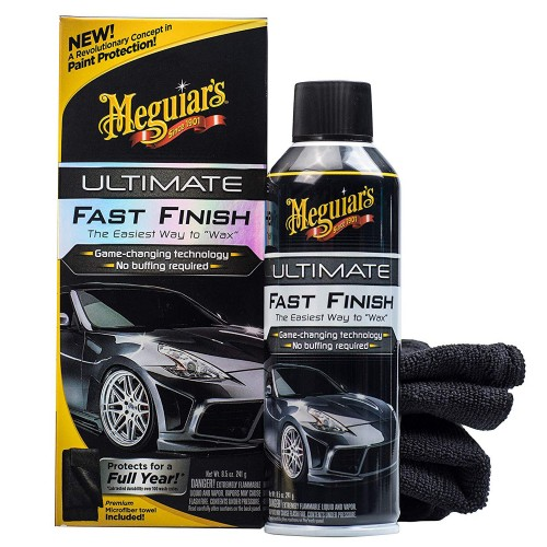 Cera Protetora Rápida Spray Ultimate Fast Finish Meguiars G18309 (251,4ml)  - foto principal 1