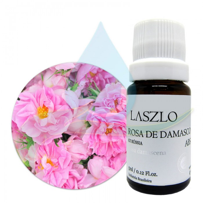 Absoluto de Rosa de Damasco - GT Rússia - Laszlo - 5ml
