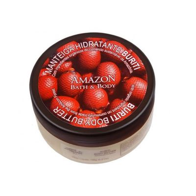 Manteiga Hidratante Buriti  - Amazon Bath & Body -  Arte dos Aromas - 196g