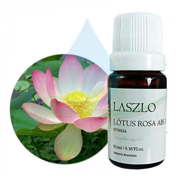 Absoluto de Lotus Rosa 10% - GT Índia - Laszlo - 10,1ml
