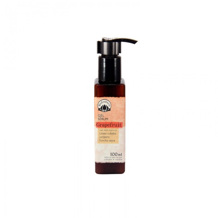Gel Serum Hidratante Grapefruit - Bioessência - 100ml