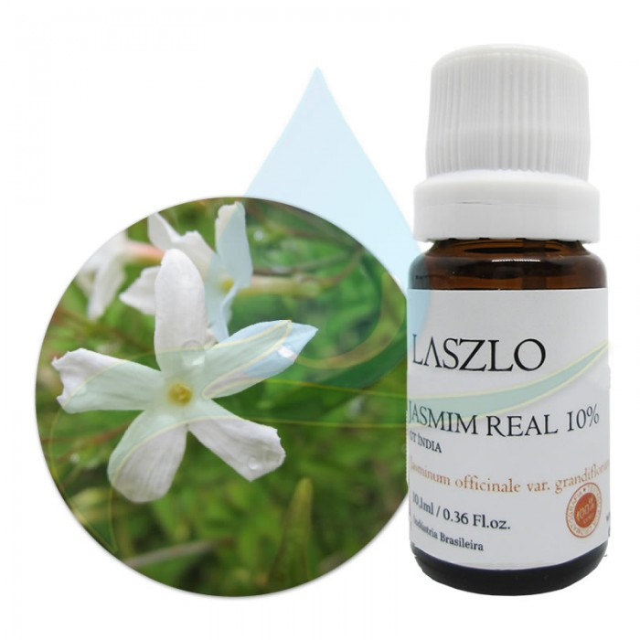 Absoluto de Jasmim Real 10% -  GT Índia - Laszlo - 10,1ml