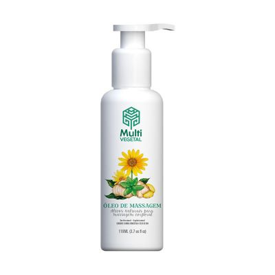 Óleo de Massagem Gengibre e Arnica - Multi Vegetal - 110ml