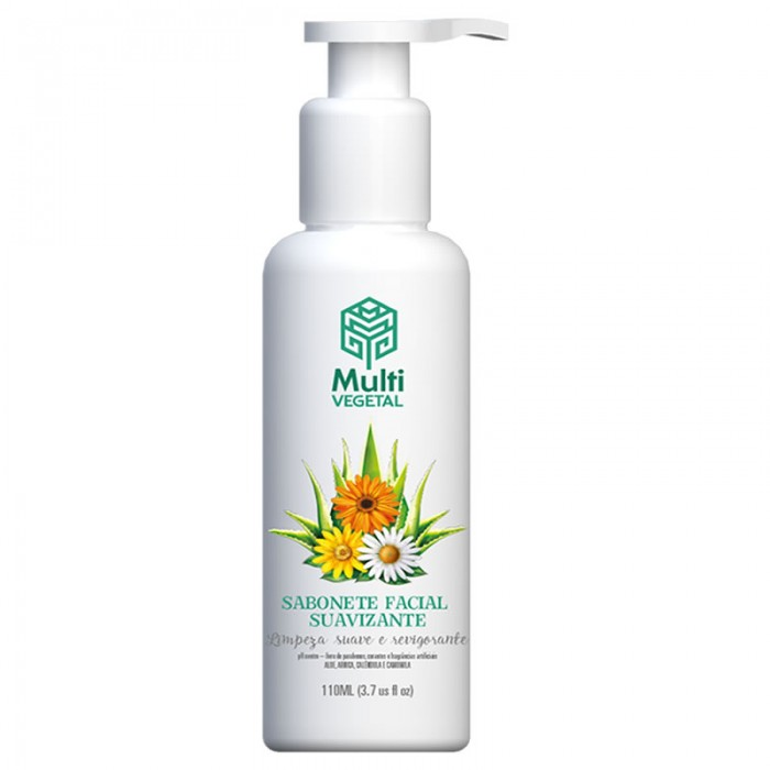 Sabonete Facial Suavizante - Multi Vegetal - 110ml