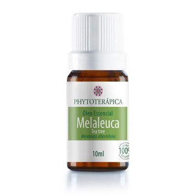 Óleo Essencial de Melaleuca (Tea Tree) - Phytoterápica - 10ml