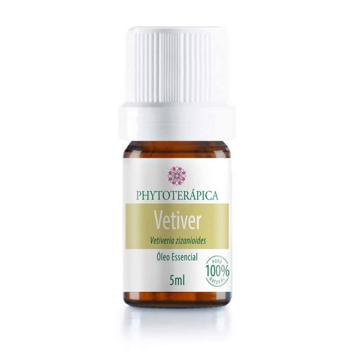 Óleo Essencial de Vetiver - Phytoterápica - 5ml