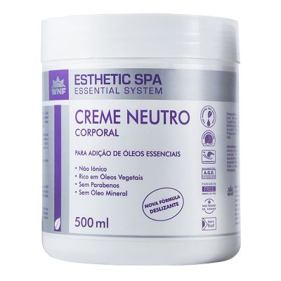 Creme Neutro Corporal Esthetic Spa (Base para Massagem) - WNF - 500gr