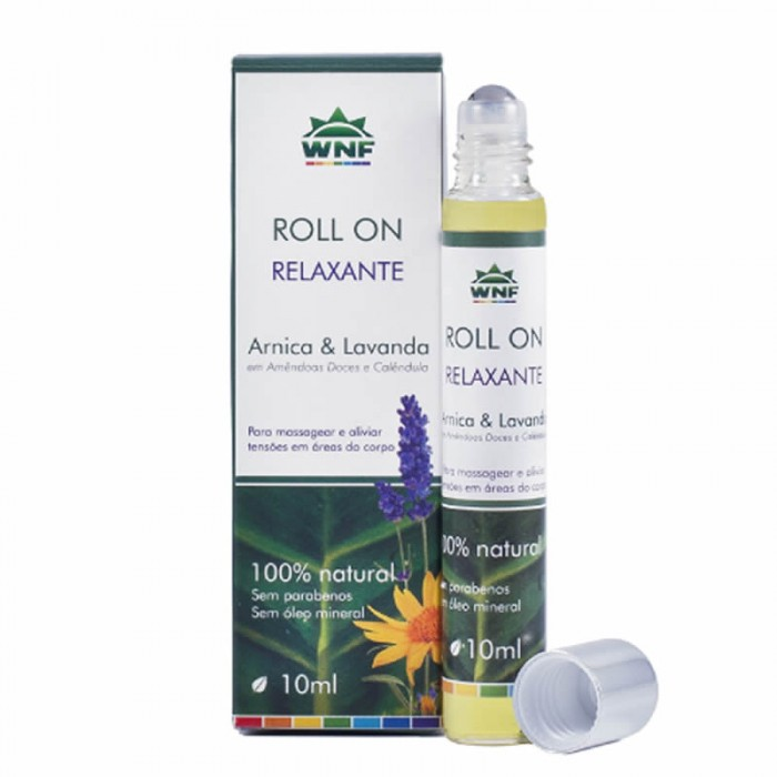 Óleo de Massagem Relaxante Roll on (Arnica e Lavanda)  - WNF - 10ml