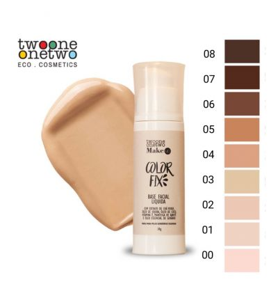 Base Facial Color Fix Jojoba - Twoone Onetwo 30g