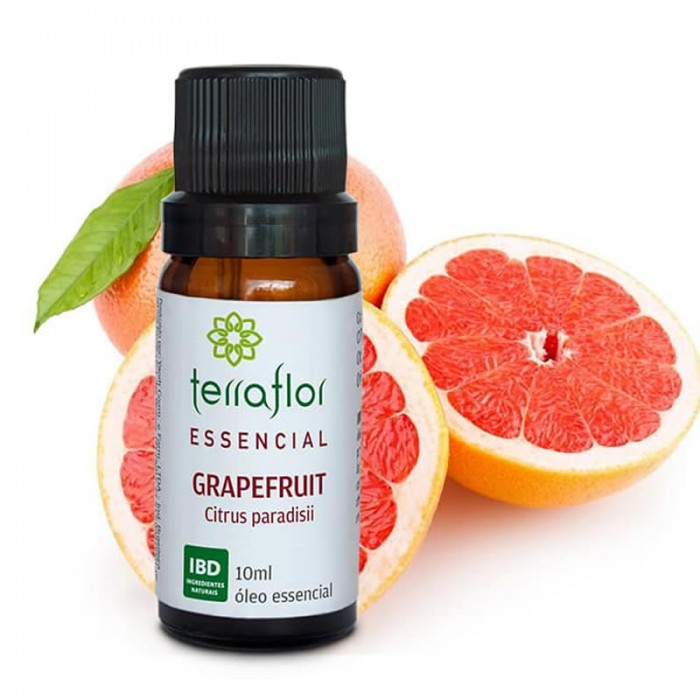 Óleo Essencial de Grapefruit - Terra Flor - 10ml