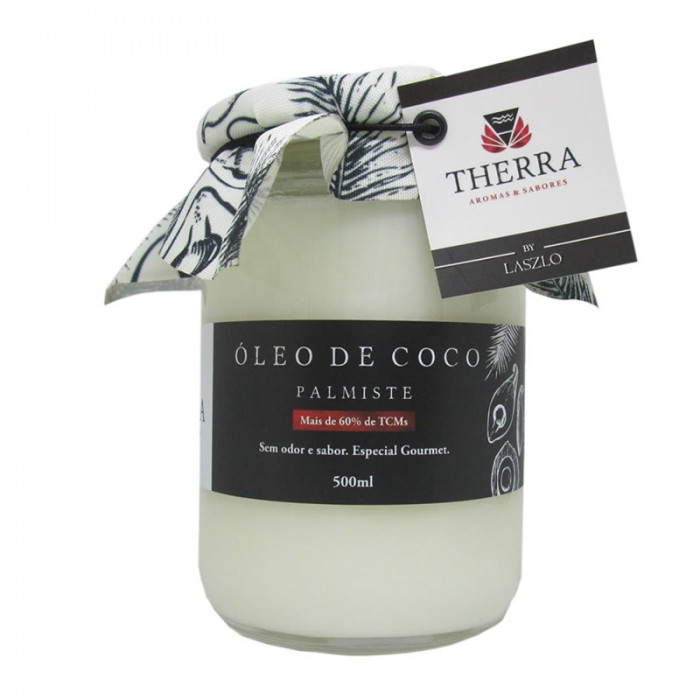 Óleo Vegetal de Coco Palmiste - Therra 500ml