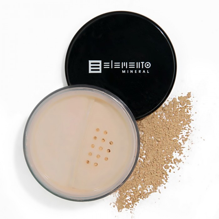 BB Powder Mineral FPS 15 - (PALE LIGHT - BEGE CLARO) - Elemento Mineral - 8g