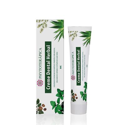 Creme Dental Herbal Adulto - Phytoterapica 80g