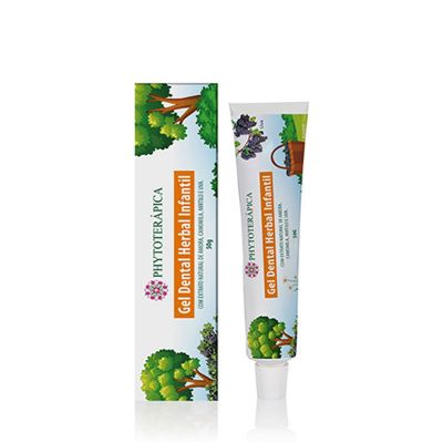 Gel Dental Herbal Infantil - Phytoterapica 50g
