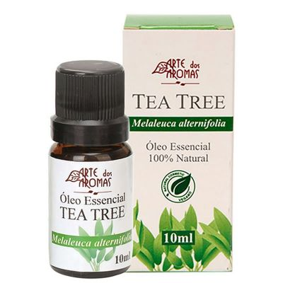 Óleo Essencial de Tea Tree - Melaleuca - Arte dos Aromas 10ml