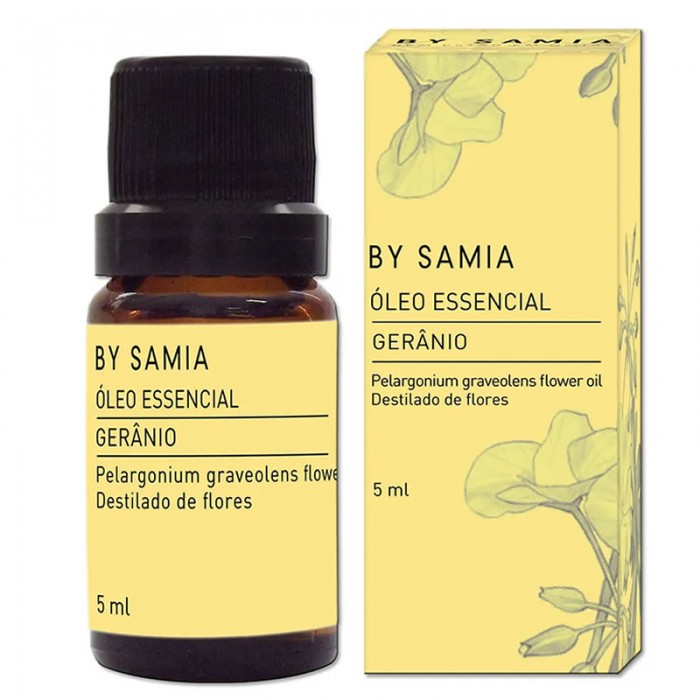 Óleo Essencial de Gerânio Bourbon - By Samia - 5ml