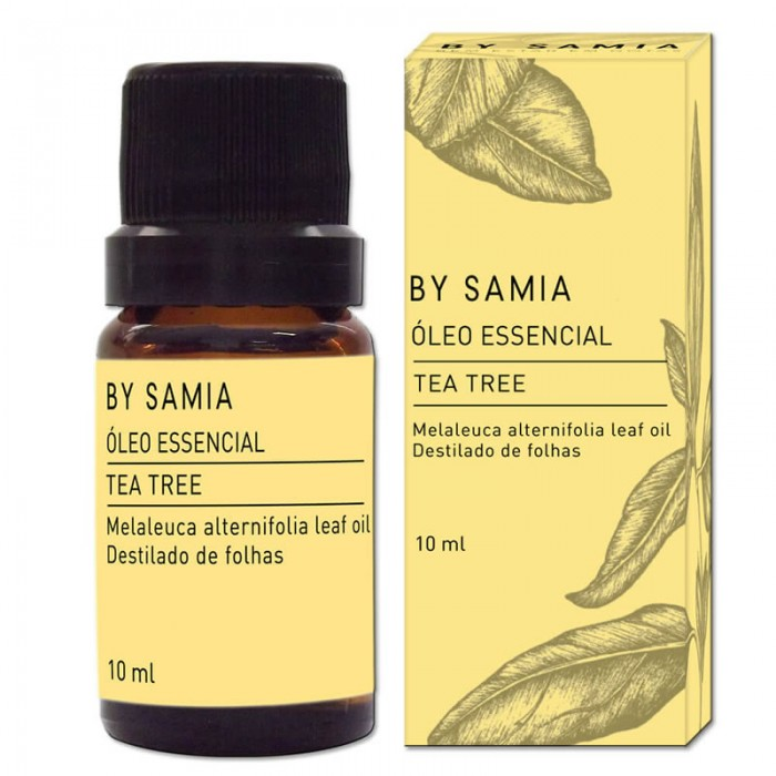 Óleo Essencial de Tea Tree (Melaleuca) - By Samia - 10ml