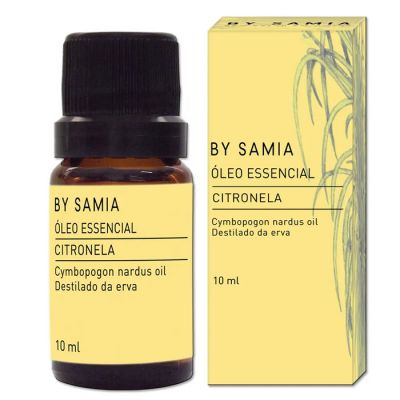 Óleo Essencial de Citronela- By Samia - 10ml