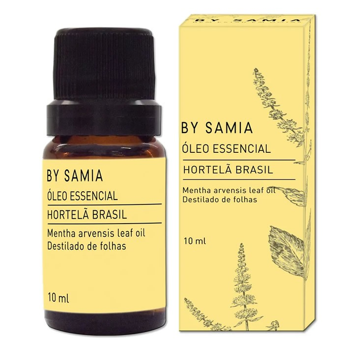 Óleo Essencial de Hortelã do Brasil  - By Samia - 10ml