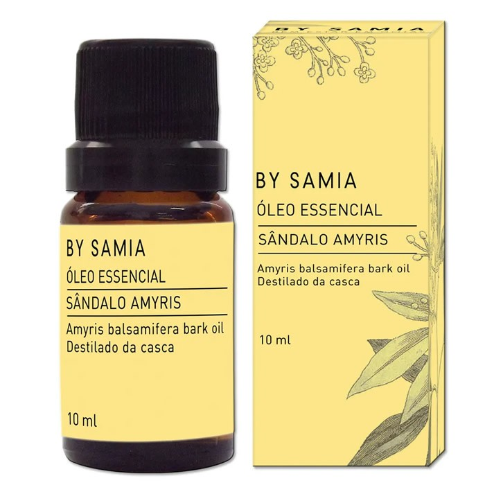 Óleo Essencial de Sândalo - By Samia - 10ml