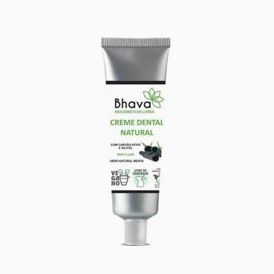 Creme Dental Natural - Bhava - 85g