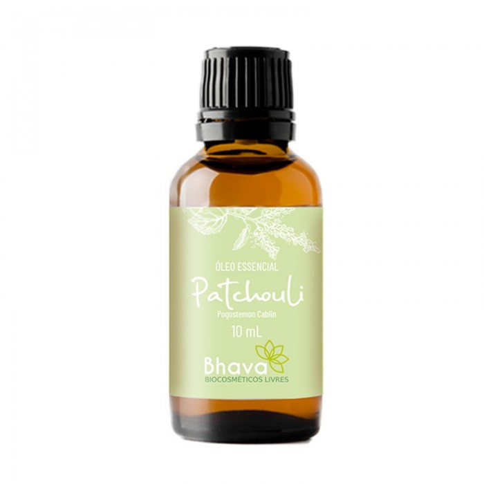 Óleo Essencial de Patchouli - Certificado IBD Natural - Bhava - 10ml